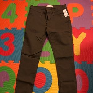 Denim - Camo Green Skinny Jeans